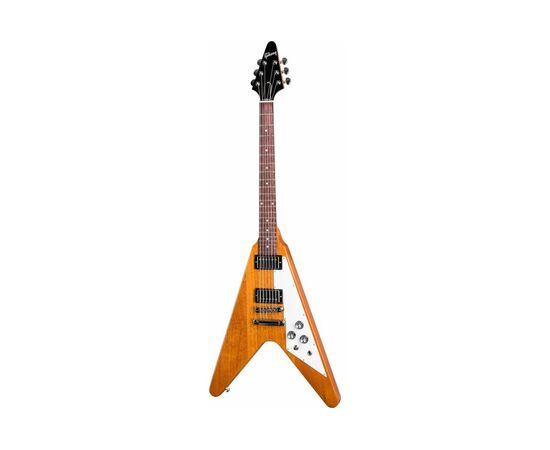 Електрогітара GIBSON FLYING V ANTIQUE NATURAL, фото