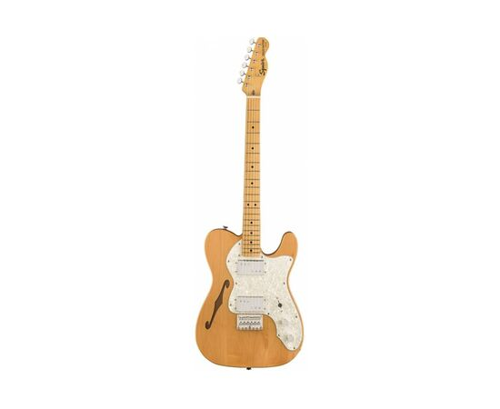 Електрогітара SQUIER by FENDER CLASSIC VIBE '70s TELECASTER THINLINE MN NATURAL, фото