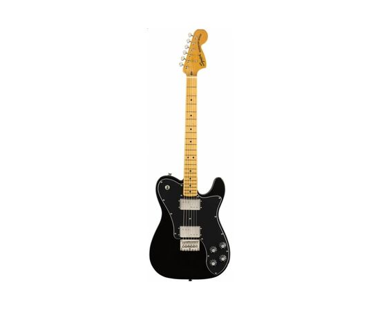 Електрогітара SQUIER by FENDER CLASSIC VIBE '70s TELECASTER DELUXE MN BLACK, фото