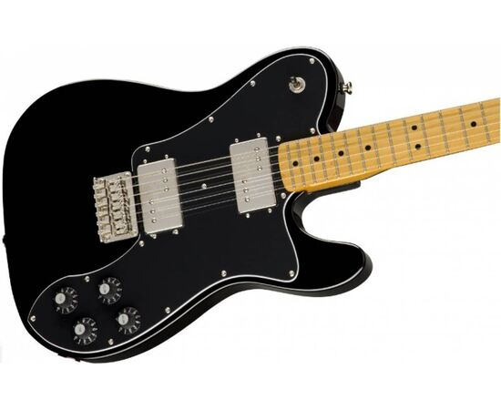 Електрогітара SQUIER by FENDER CLASSIC VIBE '70s TELECASTER DELUXE MN BLACK, фото 3