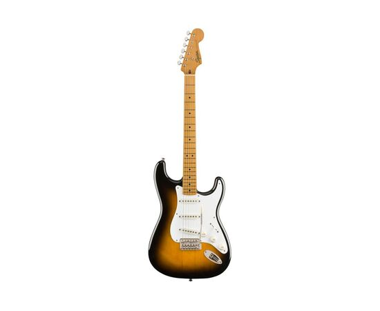 Електрогітара SQUIER by FENDER CLASSIC VIBE '50s STRATOCASTER MAPLE FINGERBOARD 2-COLOR SUNBURST, фото