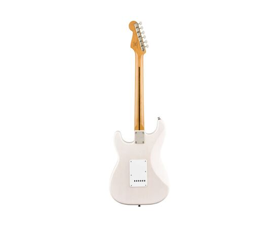 Електрогітара SQUIER by FENDER CLASSIC VIBE '50S STRATOCASTER MAPLE FINGERBOARD, WHITE BLONDE, фото 2