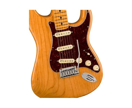 Електрогітара FENDER AMERICAN ULTRA STRATOCASTER MN AGED NATURAL, фото 4