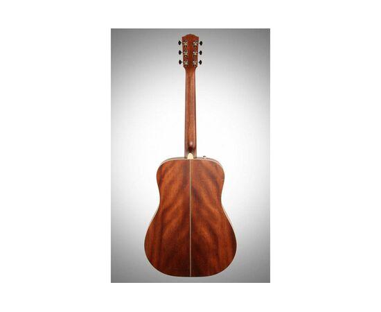 Акустическая гитара FENDER PM-1 DEADNOUGHT ALL MAHOGANY WITH CASE NATURAL, фото 2