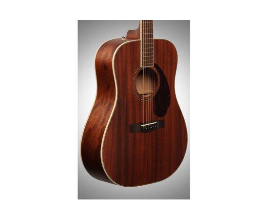 Акустическая гитара FENDER PM-1 DEADNOUGHT ALL MAHOGANY WITH CASE NATURAL, фото 6