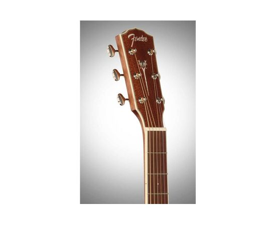 Акустическая гитара FENDER PM-1 DEADNOUGHT ALL MAHOGANY WITH CASE NATURAL, фото 7