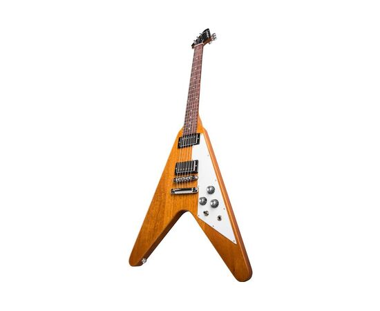 Електрогітара GIBSON FLYING V ANTIQUE NATURAL, фото 4