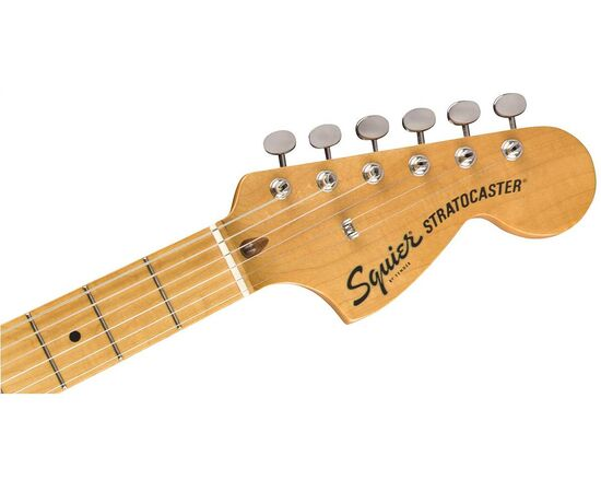Электрогитара SQUIER by FENDER CLASSIC VIBE '70s STRATOCASTER HSS MN BLACK, фото 5
