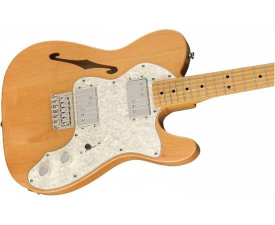 Електрогітара SQUIER by FENDER CLASSIC VIBE '70s TELECASTER THINLINE MN NATURAL, фото 3