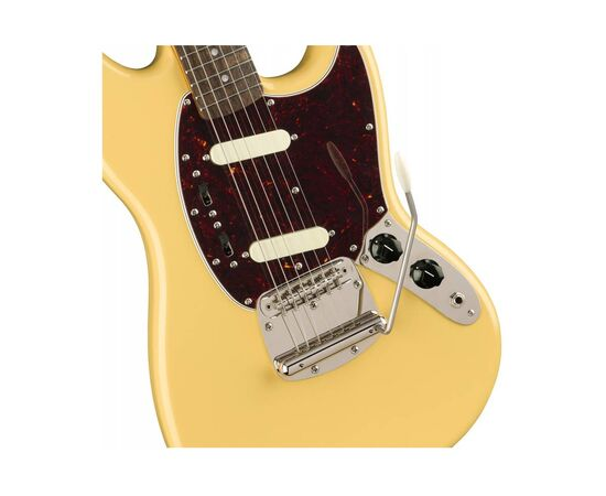 Електрогітара SQUIER by FENDER CLASSIC VIBE '60s MUSTANG LR VINTAGE WHITE, фото 3