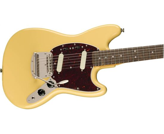 Електрогітара SQUIER by FENDER CLASSIC VIBE '60s MUSTANG LR VINTAGE WHITE, фото 4