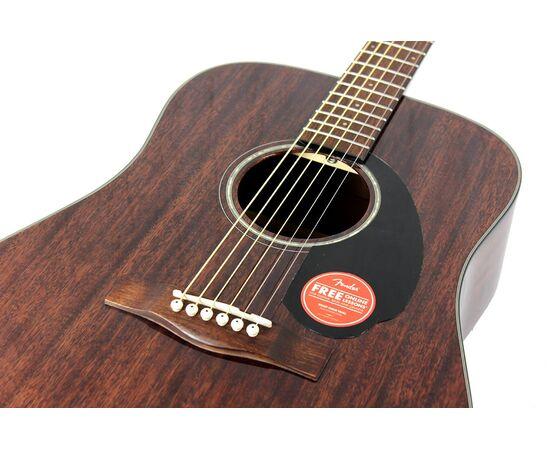 Гитара акустическая FENDER CD-60S ALL MAHOGANY NATURAL WN, фото 5