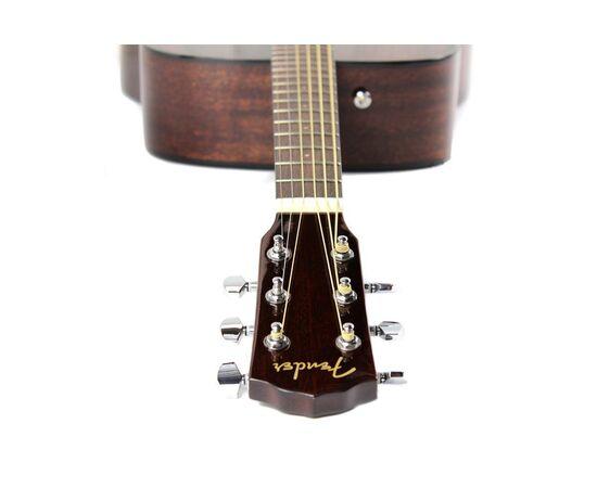 Гитара акустическая FENDER CD-60S ALL MAHOGANY NATURAL WN, фото 9