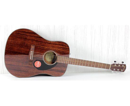 Гитара акустическая FENDER CD-60S ALL MAHOGANY NATURAL WN, фото 14