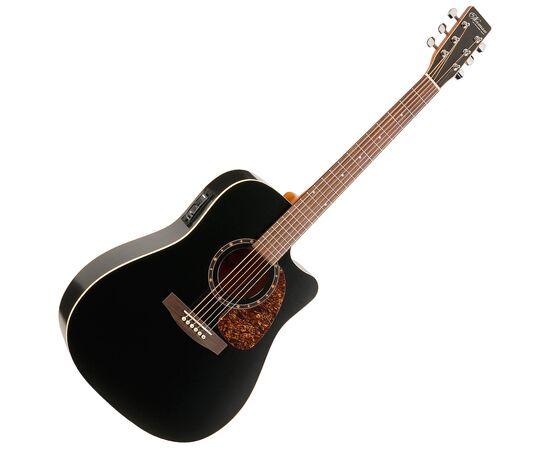 Акустическая гитара с вырезом подключением NORMAN 028054 Protege B18 CW Cedar Black Presys, фото
