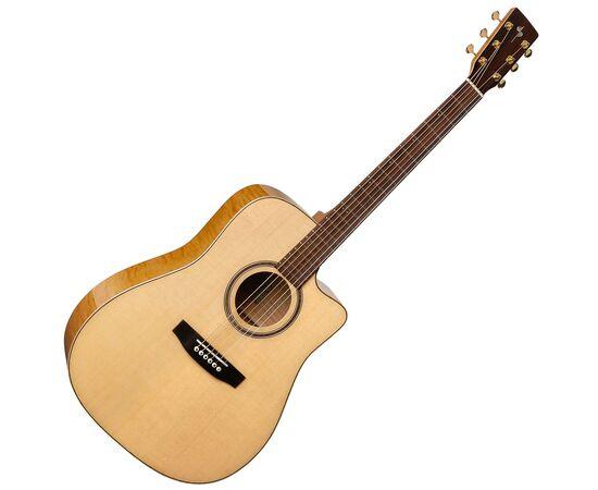 Акустическая гитара с вырезом и подключением Simon&Patrick 033270 Showcase CW Flame Maple Element with DLX TRIC, фото