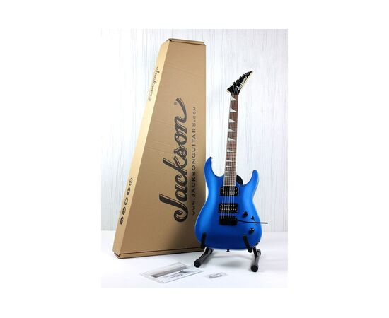 Электрогитара JACKSON JS22 DKA DINKY ARCH TOP AR METALLIC BLUE, фото 12