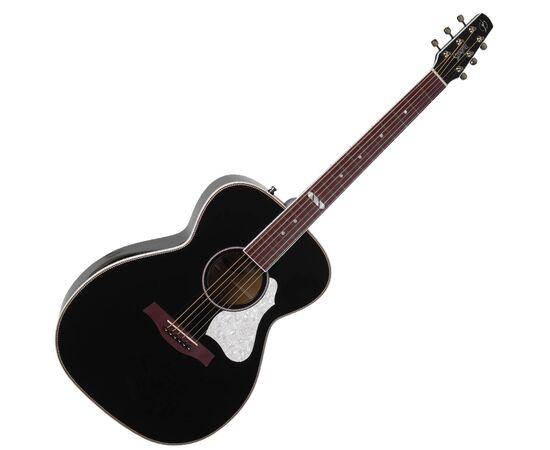 Акустическая гитара с подключением SEAGULL 047734 Artist Limited Tuxedo Black EQ (с кофром), фото