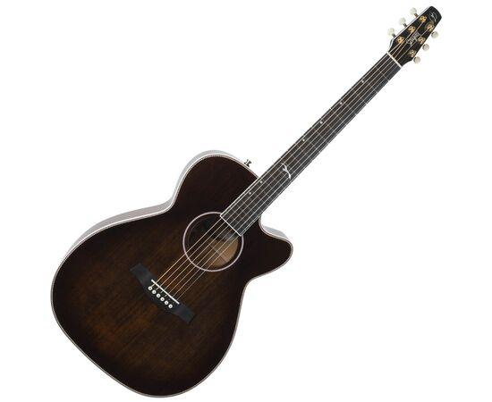 Акустическая гитара с вырезом и подключением SEAGULL 047741 Artist Mosaic CH CW Bourbon Burst GT EQ (с кофром), фото
