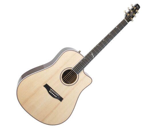 Акустическая гитара с вырезом и подключением SEAGULL 047758 Artist Mosaic CW HG EQ (с кофром), фото