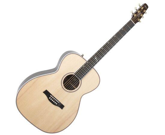 Акустическая гитара с подключением SEAGULL 047772 Artist Studio CH Natural EQ (с кофром), фото