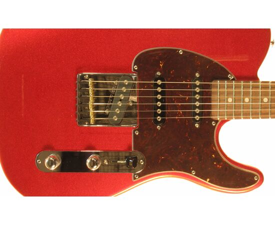 Електрогітара G & L ASAT CLASSIC S (Candy Apple Red, rosewood, 3-ply Tortoise) № CLF067571, фото 5