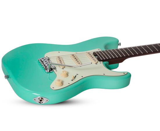 Электрогитара SCHECTER NICK JOHNSTON DS TRAD A.GREEN, фото 4