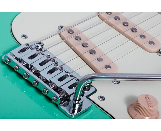 Электрогитара SCHECTER NICK JOHNSTON DS TRAD A.GREEN, фото 7