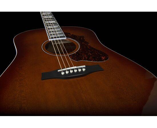 Акустическая гитара с подключением GODIN 047918 Metropolis LTD Havana Burst HG EQ (с кофром), фото 11
