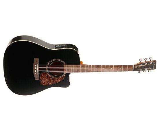 Акустическая гитара с вырезом подключением NORMAN 028054 Protege B18 CW Cedar Black Presys, фото 2