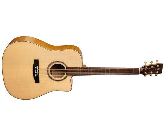 Акустическая гитара с вырезом и подключением Simon&Patrick 033270 Showcase CW Flame Maple Element with DLX TRIC, фото 2