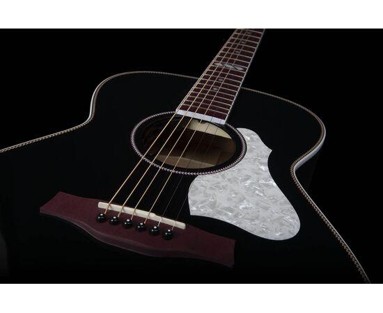 Акустическая гитара с подключением SEAGULL 047734 Artist Limited Tuxedo Black EQ (с кофром), фото 7