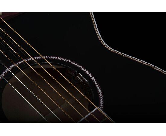 Акустическая гитара с подключением SEAGULL 047734 Artist Limited Tuxedo Black EQ (с кофром), фото 10