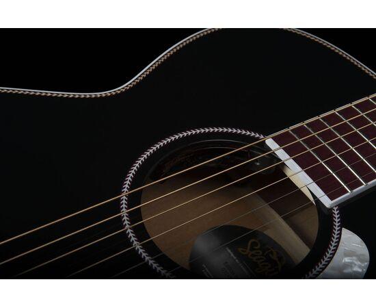 Акустическая гитара с подключением SEAGULL 047734 Artist Limited Tuxedo Black EQ (с кофром), фото 11