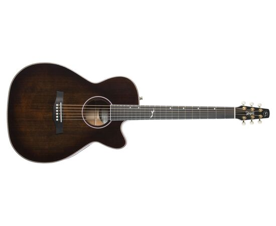 Акустическая гитара с вырезом и подключением SEAGULL 047741 Artist Mosaic CH CW Bourbon Burst GT EQ (с кофром), фото 2