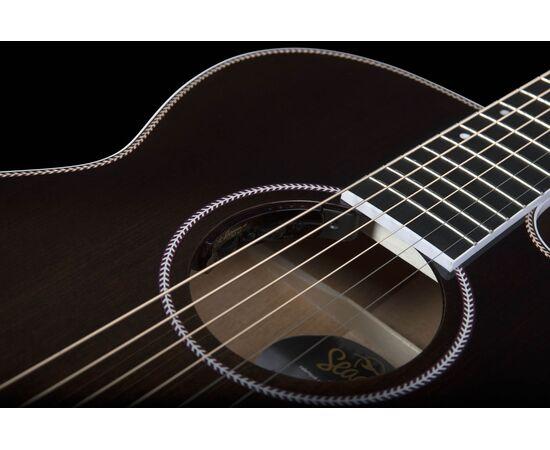 Акустическая гитара с вырезом и подключением SEAGULL 047741 Artist Mosaic CH CW Bourbon Burst GT EQ (с кофром), фото 8