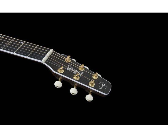 Акустическая гитара с вырезом и подключением SEAGULL 047741 Artist Mosaic CH CW Bourbon Burst GT EQ (с кофром), фото 16