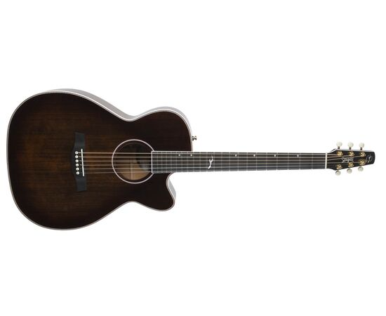Акустическая гитара с вырезом и подключением SEAGULL 047741 Artist Mosaic CH CW Bourbon Burst GT EQ (с кофром), фото 3