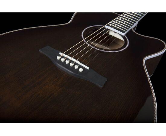 Акустическая гитара с вырезом и подключением SEAGULL 047741 Artist Mosaic CH CW Bourbon Burst GT EQ (с кофром), фото 11