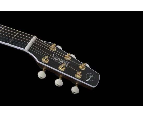 Акустическая гитара с вырезом и подключением SEAGULL 047758 Artist Mosaic CW HG EQ (с кофром), фото 14