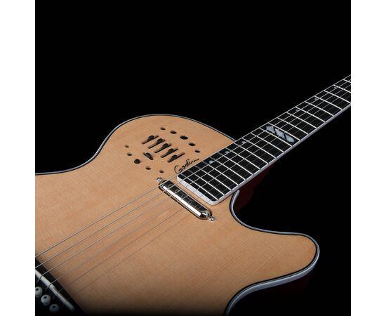 Електроакустична гітара GODIN 047895 Multiac Steel Natural HG (з кофром), фото 7