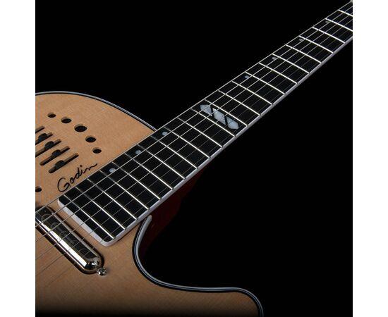 Електроакустична гітара GODIN 047895 Multiac Steel Natural HG (з кофром), фото 8