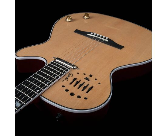 Електроакустична гітара GODIN 047895 Multiac Steel Natural HG (з кофром), фото 11