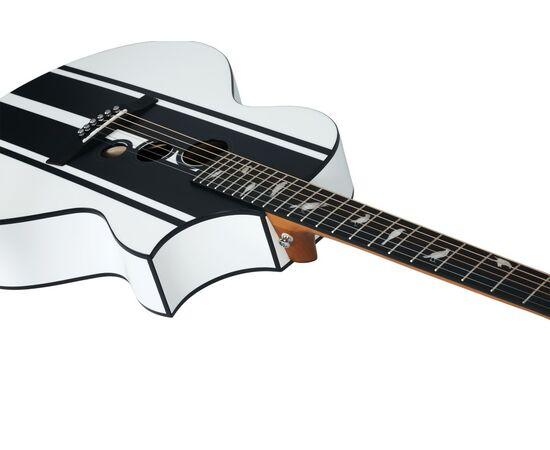 Акустическая гитара с вырезом и подключением SCHECTER DJ ASHBA ACOUSTIC SWHT, фото 7