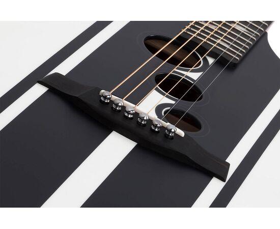 Акустическая гитара с вырезом и подключением SCHECTER DJ ASHBA ACOUSTIC SWHT, фото 3