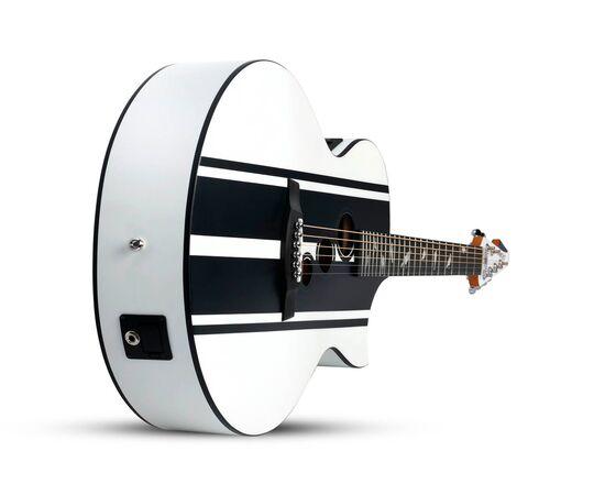 Акустическая гитара с вырезом и подключением SCHECTER DJ ASHBA ACOUSTIC SWHT, фото 6