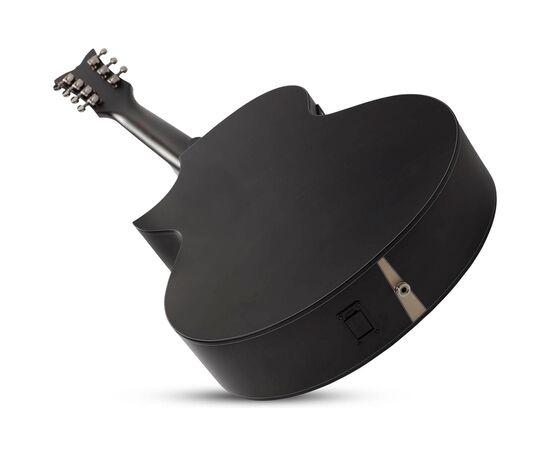 Акустична 7-й струнна гітара з вирізом та підключенням SCHECTER ORLEANS STAGE-7 SSTBLK, фото 11