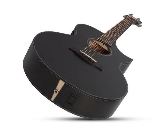Акустична 7-й струнна гітара з вирізом та підключенням SCHECTER ORLEANS STAGE-7 SSTBLK, фото 5