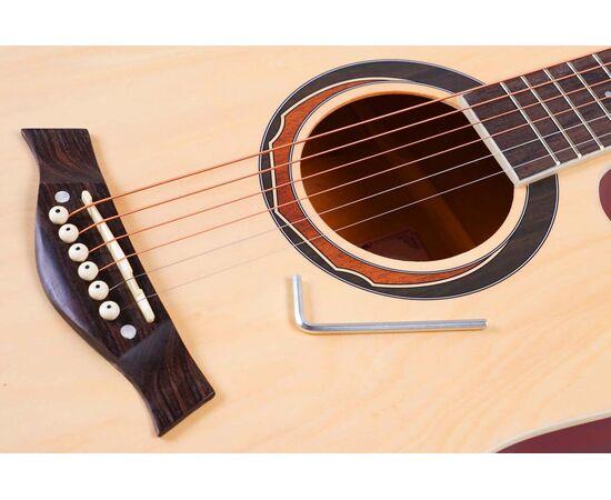 Акустическая гитара Alfabeto WL41 NT + чехол, фото 5