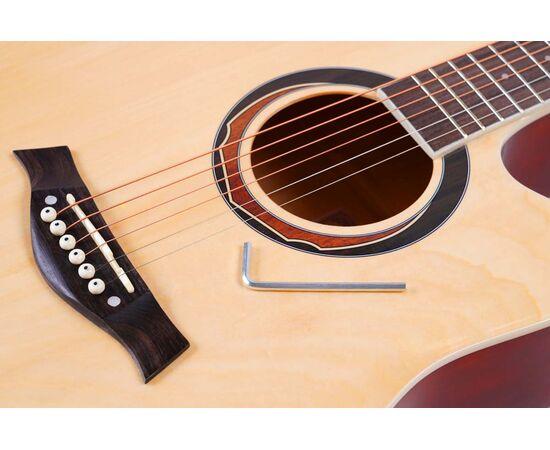 Акустическая гитара Alfabeto WL41 ST + чехол, фото 5